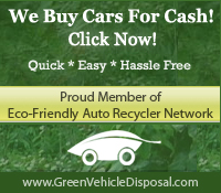 We Buy Car for Cash Green Car Disposal